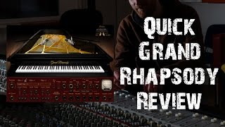 Waves Grand Rhapsody Grand Piano Demo and Impression