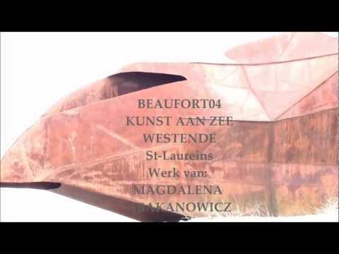 "13 MAR 2012 BELGIAN COAST  WESTENDE ""BEAUFORT04"" STRAND ST LAUREINS  MAGDALENA ABAKANOWICZ"