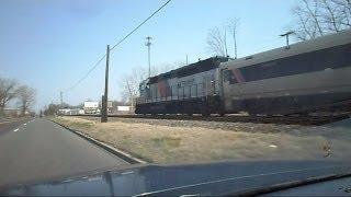 Chasing A New Jersey Transit Train