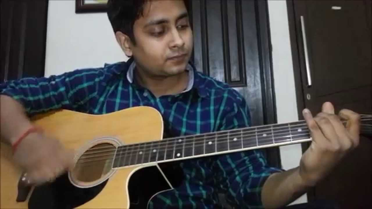 How to play Pani Da Rang (Vicky Donor) Guitar Cover - YouTube
