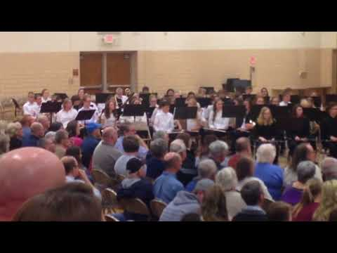 Luverne Middle School band River Rendezvous