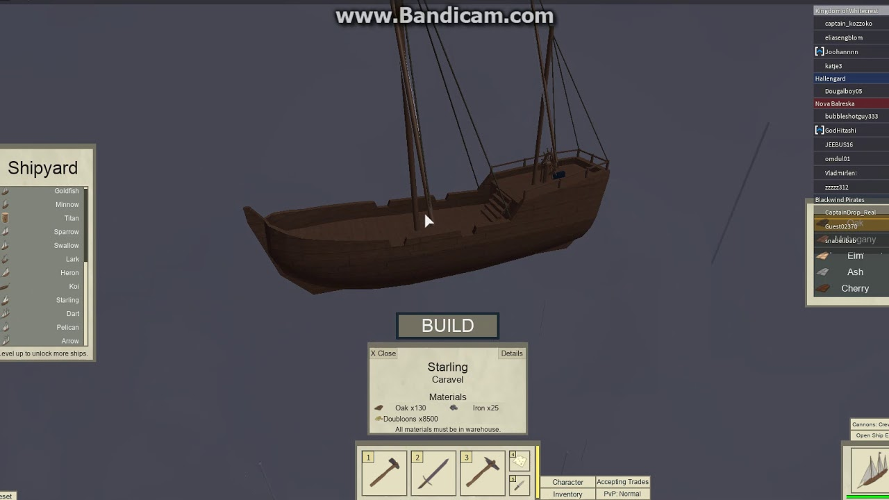 Tradelands All Ships Level 1 To Level 7 - top 5 best trade ships roblox tradelands