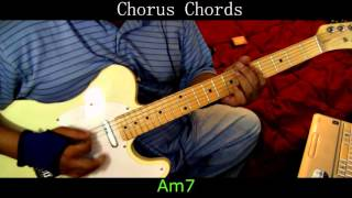 Hall and Oates - Sara Smile - Guitar Cover with Chords