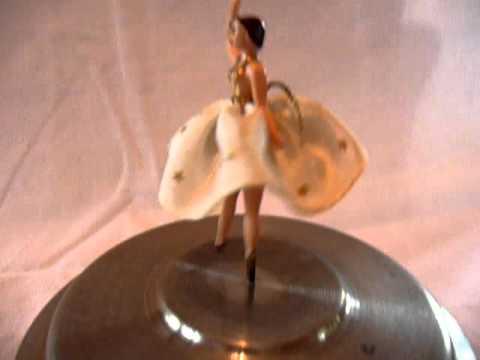 Reuge dancing ballerina music box