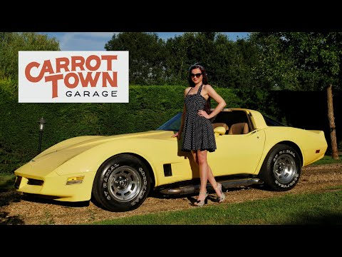 Video Review Of Our 1981 Chevrolet Corvette C3 5.7 350 For Sale Carrot Town Garage Cambridge UK
