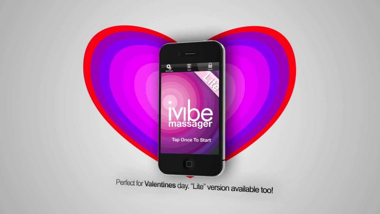 iVibe Massager Vibrating App