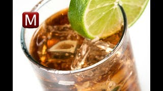 Коктейль КОКОН. Самбука, пепси-кола, лимон. Супер освежающий напиток
