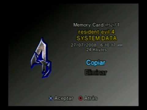 Exploring my really old PS2 Memory Card
