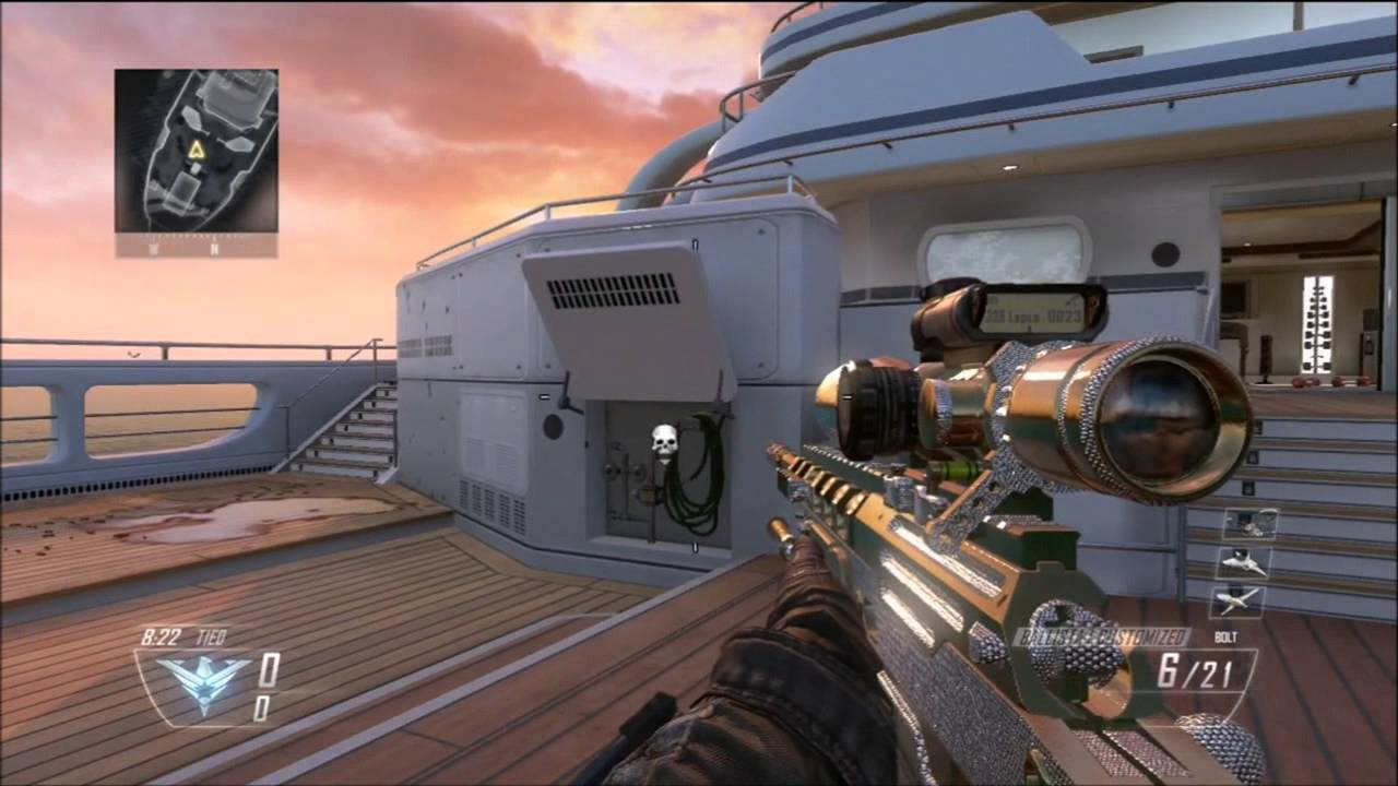 Call Of Duty Black Ops 2 Diamond Camo Snipers Youtube