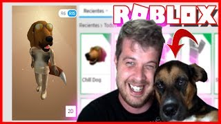 WE CREATE A ROBLOX ACCOUNT TO MY DOG!! (And I give you 1000 ROBUX)