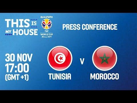 Tunisia v Morocco - Press Conference