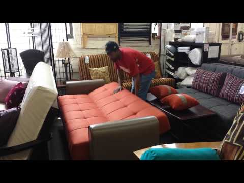How To Open a Click Clack Sofa Bed