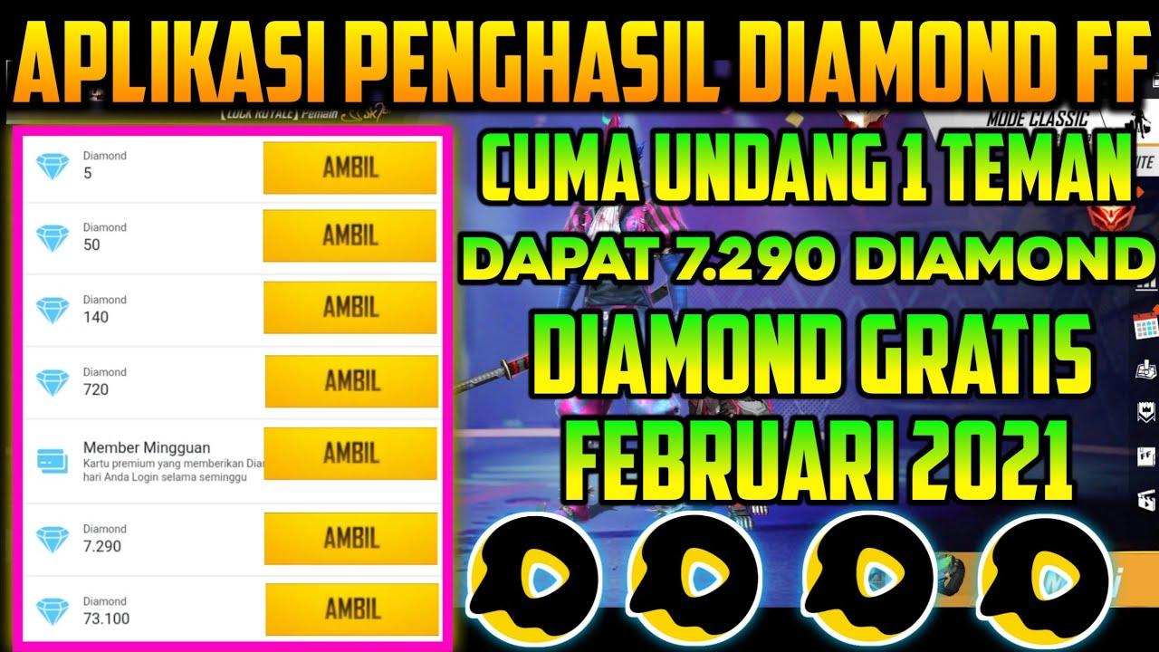 APLIKASI PENGHASIL DIAMOND FF TERBARU FEBRUARI 2021