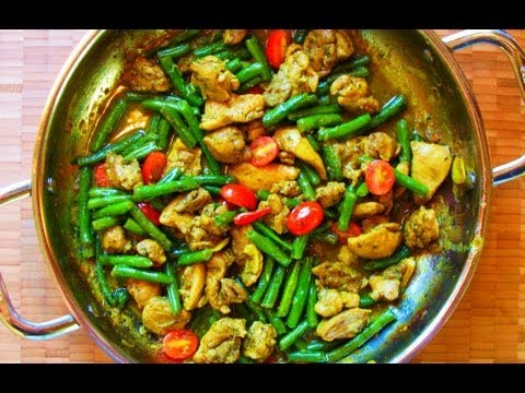 Classic curry chicken with string beans youtube classic curry chicken with string beans forumfinder Gallery
