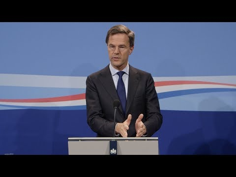 Integrale persconferentie MP Rutte van 10 november 2017