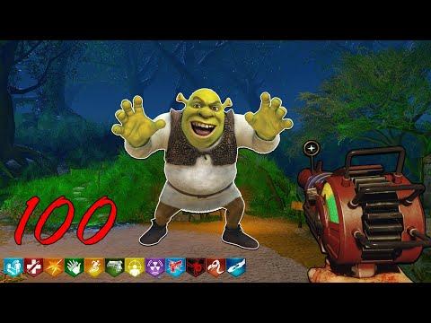 زومبي بلاك اوبس 3 : ألغاز كثيره 😱! ( ماب Shrek مع الشباب 😍🔥 )