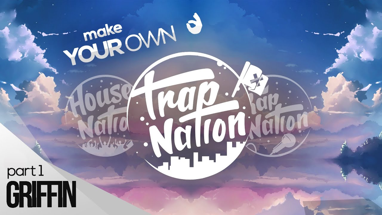 how to make a logo like trap nation photoshop part 1 2 youtube