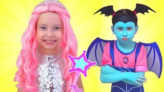 Alice And Junior Vampirina Pretend Play With Magic Toys