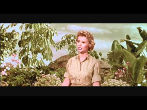 Mitzi Gaynor - Screen Test for the film South Pacific #1