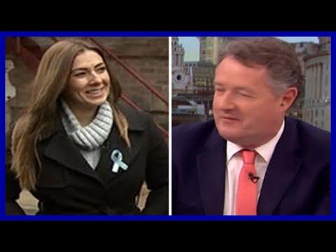 Piers Morgan shamelessly flirts with Coronation Street's Kym Marsh for love interest role