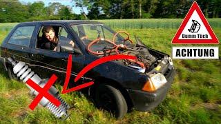 Läuft ein Auto auf 1 Zylinder? Fahren ohne Zündkerze | Dumm Tüch