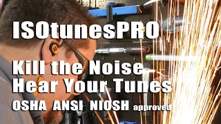 ISOtunesPRO Noise Isolation Bluetooth Earbuds Video Review