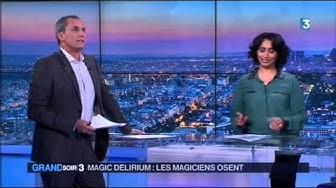 Eric Antoine & Calista Sinclair - Antoine au Grand Soir 3 le 9 décembre 2014