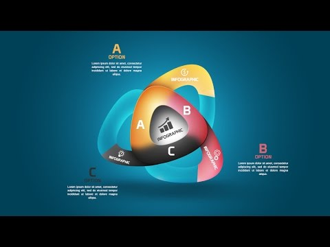 Number Infographic Design Tutorial In Photoshop