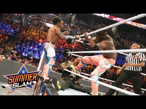 The New Day vs. Luke Gallows & Karl Anderson – WWE Tag Team Titel Match: SummerSlam 2016