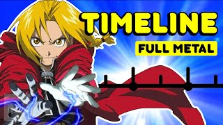 The Complete Fullmetal Alchemist Brotherhood Timeline | Get In The Robot