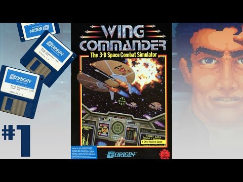 Wing Commander (1990, PC-DOS) 1/4