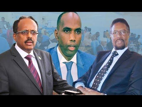 WARARKA Somalia: Xiisadda BF & Villa Somalia, Go'aanka Farmaajo iyo Kheyre, Mursal oo…