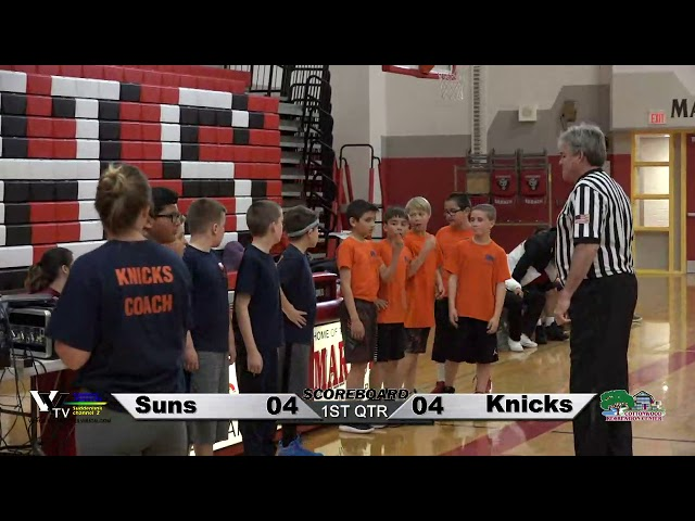 Cottonwood Power Division 1 Youth Basketball: Suns vs Knicks