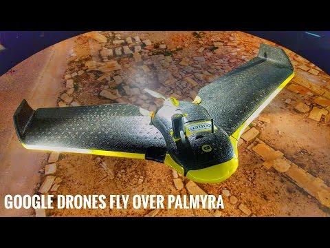 Google drones map Palmyra in 3D