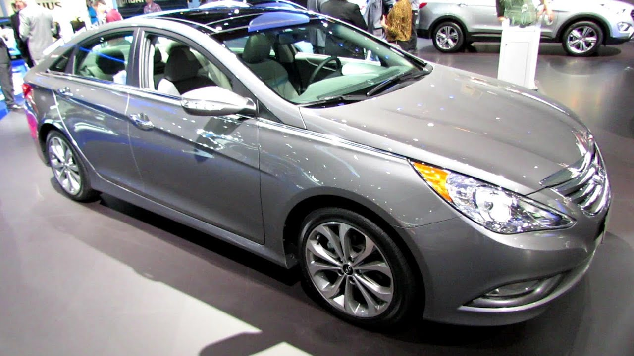 Lovely 2014 Hyundai Sonata 2,0T Limited   Exterior And Interior Walkaround   2013  LA Auto Show   YouTube