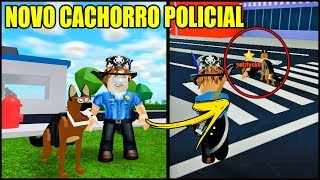 NEW POLICE DOG IN MAD CITY!! SEE HOW TO USE DOG!! ROBLOX