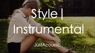 Style - Taylor Swift (Acoustic Instrumental)