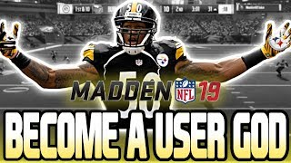 HOW TO BECOME A USER GOD IN MADDEN 19!!! HOW TO STOP ANY OFFENSE