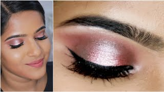 How to do Eyeshadow?Beginner Friendly Hallow Eye Makeup Tutorial🥰