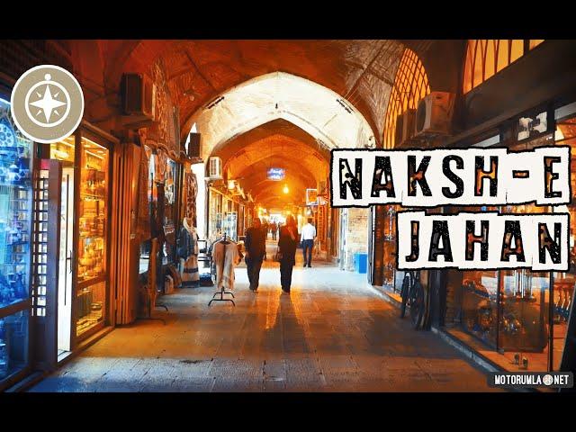Nakş-ı Cihan Meydanı Çarşısında Kısa Bir Tur   İsfahan - İran