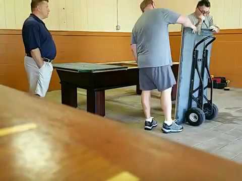 How To Take Apart A Pool Table With Slate Break Down Home - How do you take apart a pool table