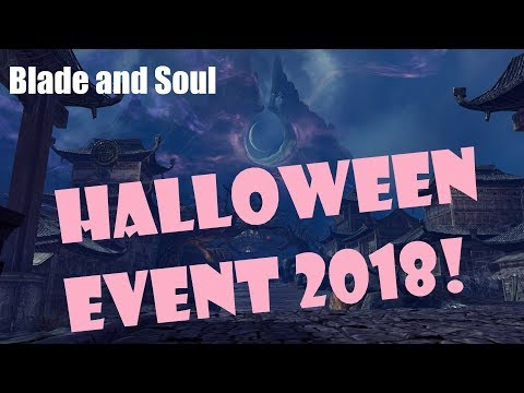 [Blade and Soul] Upcoming Halloween Event! October 2018!