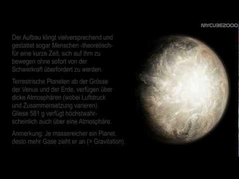Exoplaneten: Gibt es Leben auf Gliese 581g ?