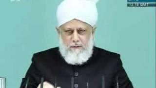 Shia Sunni or Adal wa Hakam khutba juma 2 12 2011 clip 3