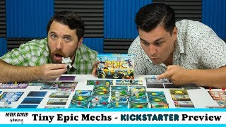 Tiny Epic Mechs - Kickstarter Preview