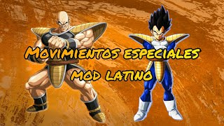 Nappa & Vegeta Movimientos especiales mod latino