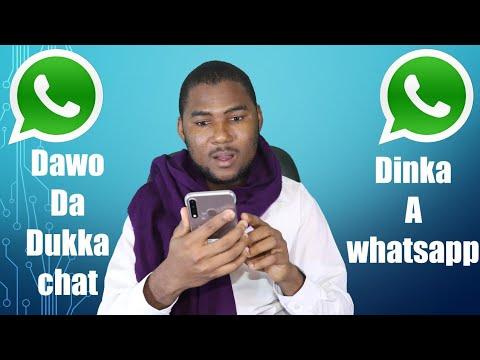 WHATSAPP:/ Yanda ZakaYi chat dinka karsu goge ko ka canja sabuwar waya ko whatsapp.