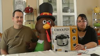 Name That Turkey & Thanksgiving Crockpot Giveaway