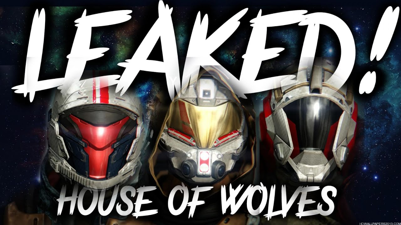 Destiny leaked house of wolves armour weapons for all classes