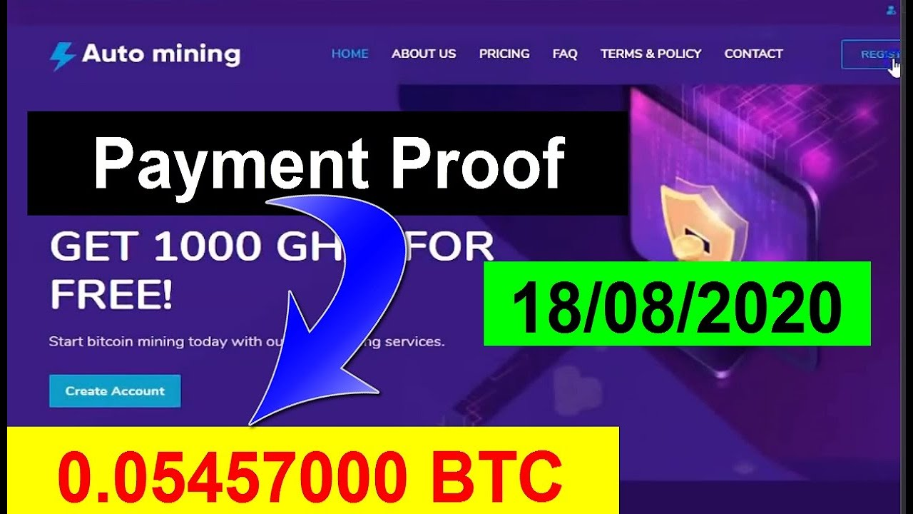 Automining.cc Review |Auto Mining Withdrawal Proof 0.05 Btc ...
